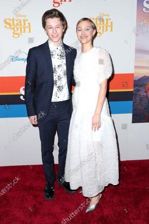 Graham Verchere and Grace Vanderwaal