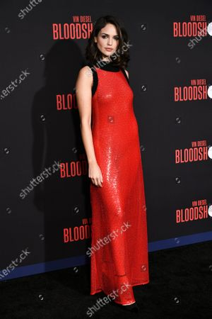 Editorial image of 'Bloodshot' film premiere, Arrivals, Los Angeles, USA - 10 Mar 2020