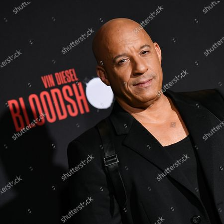 Editorial picture of 'Bloodshot' film premiere, Arrivals, Los Angeles, USA - 10 Mar 2020