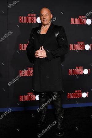 Stock Picture of Vin Diesel