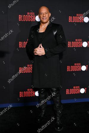 Stock Photo of Vin Diesel