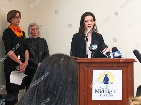 Editorial photo of US Homeless, Los Angeles, USA - 10 Mar 2020