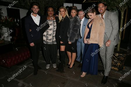 Joshua Ricthie, Alison Hammond, Olivia Bentley, Dean Gaffney, Amy Hart and James Lock