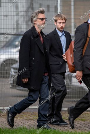 Sonny Starkey and Jason Starkey arrive at Wood Green Crown Court.