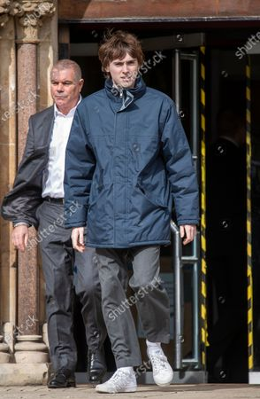 Editorial photo of Son of Liam Gallagher and grandson of Ringo Starr appear at court accused of affray., London, United Kingdom - 09 Mar 2020