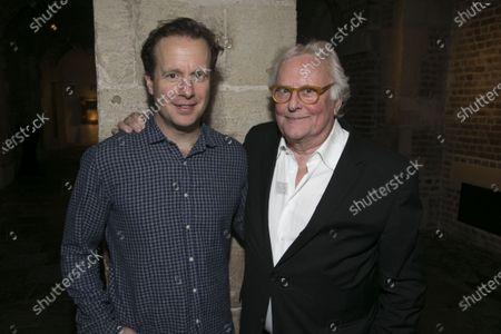 Geoffrey Streatfeild (Charles) and Richard Eyre (Director)