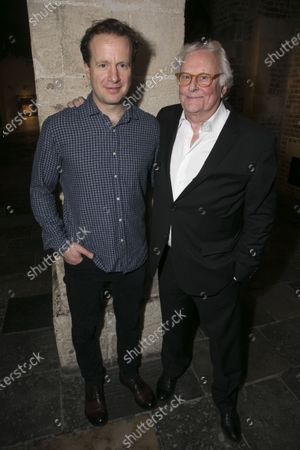 Stock Image of Geoffrey Streatfeild (Charles) and Richard Eyre (Director)