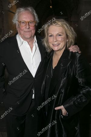 Richard Eyre (Director) and Jennifer Saunders (Madame Arcati)