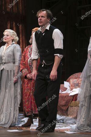 Geoffrey Streatfeild (Charles) during the curtain call
