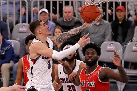Editorial image of St. Francis Robert Morris Basketball, Pittsburgh, USA - 10 Mar 2020