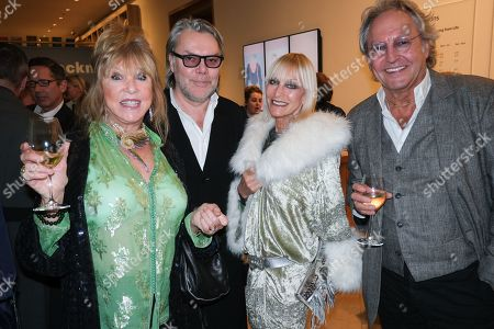 Stock Image of Patti Boyd, David Downton, Virginia Bates and Rod Weston