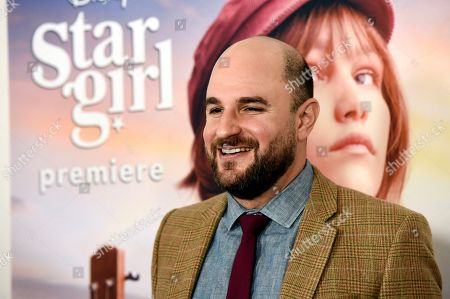 """Jordan Horowitz, co-screenwriter/executive producer of the Disney+ film """"Stargirl,"""" poses at the premiere of the film at the El Capitan Theatre, in Los Angeles"""