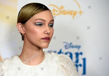 "Grace VanderWaal, a cast member in the Disney+ film ""Stargirl,"" poses at the premiere of the film at the El Capitan Theatre, in Los Angeles"