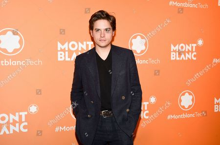 Dylan Sprouse attends the Montblanc MB 01 Smart Headphones and Summit 2+ launch party World of McIntosh Townhouse, in New York