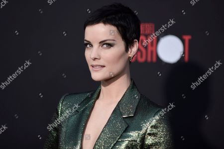 """Jaimie Alexander attends the LA premiere of """"Bloodshot,"""" at the Regency Westwood Theatre, in Los Angeles"""