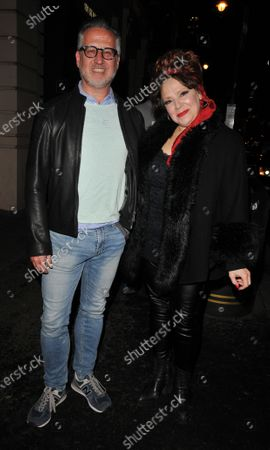 Harriet Thorpe and guest