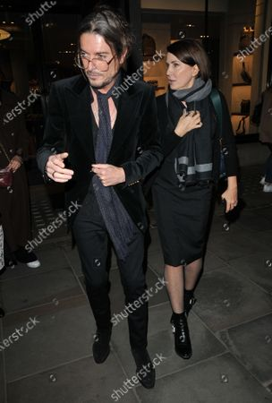Stock Photo of Darren Strowger and Sadie Frost