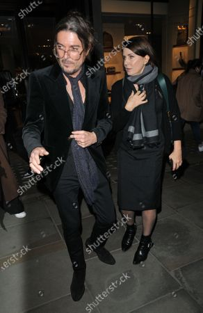 Stock Picture of Darren Strowger and Sadie Frost