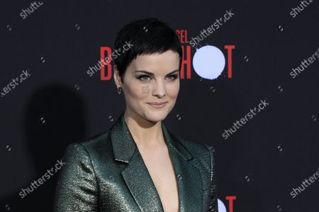 Jaimie Alexander arrives for the premiere of the movie 'Bloodshot' at the Regency Village Theater in Westwood, Los Angeles, California, USA, 10 March 2020. The movie opens in theaters in the USA on 13 March 2020.