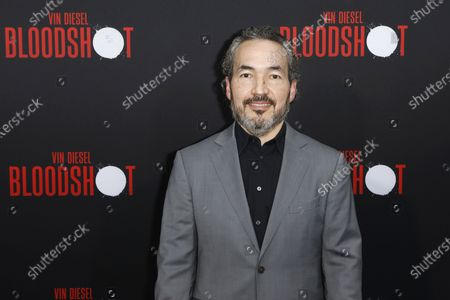 Steve Jablonsky arrives for the premiere of the movie 'Bloodshot' at the Regency Village Theater in Westwood, Los Angeles, California, USA, 10 March 2020. The movie opens in theaters in the USA on 13 March 2020.
