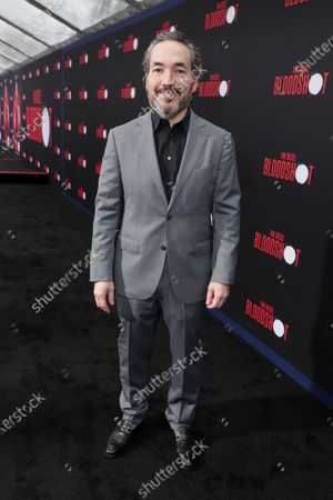 Stock Picture of Steve Jablonsky, Composer, at the World Premiere of Columbia Pictures' BLOODSHOT at The Village Regency.