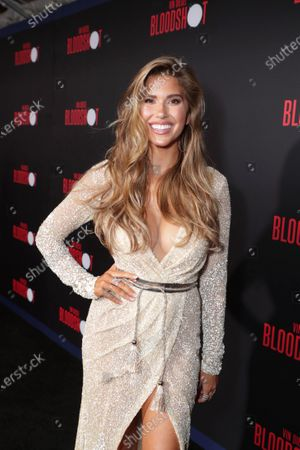 Kara Del Toro at the World Premiere of Columbia Pictures' BLOODSHOT at The Village Regency.