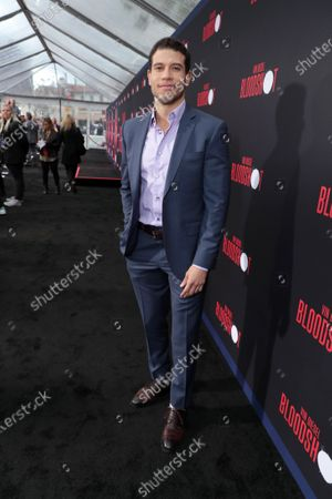 Alex Hernandez at the World Premiere of Columbia Pictures' BLOODSHOT at The Village Regency.