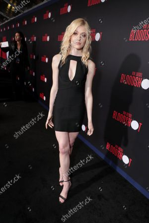 Editorial image of World Premiere of Columbia Pictures' BLOODSHOT, Los Angeles, CA, USA - 10 Mar 2020