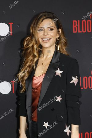 US TV host Maria Menounos arrives for the movie premiere of Sony's 'Bloodshot' at the Regency Village Theater in Westwood, Los Angeles, California, USA, 10 March 2020. The movie opens in theaters in the USA on 13 March 2020.