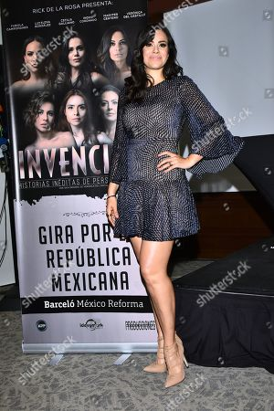 Editorial image of 'Invencibles' play press conference, Mexico City, Mexico - 10 Mar 2020