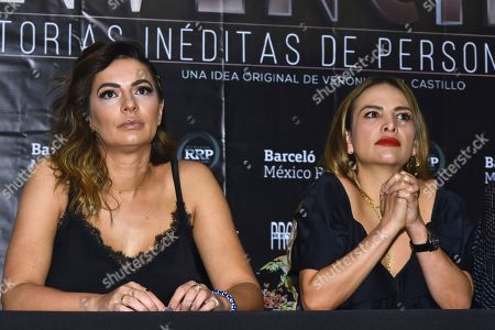 Stock Picture of Cecilia Galliano and Fabiola Campomanes