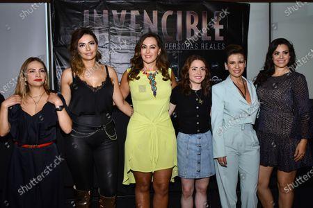 Stock Photo of Fabiola Campomanes, Cecilia Galliano, Veronica del Castillo, Maryfer Centeno, Ingrid Coronado and Luz Elena Gonzalez