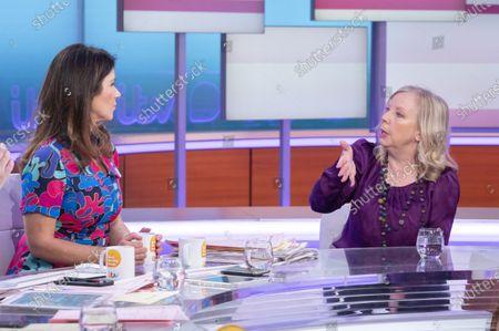 Susanna Reid with Deborah Meaden