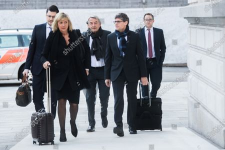 Editorial image of Swiss trial over German 2006 World Cup corruption, Bellinzona, Switzerland - 11 Mar 2020