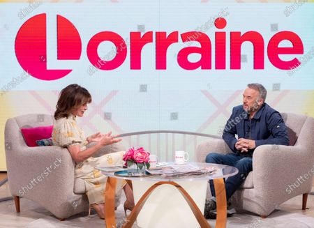 Lorraine Kelly and Mark Womack