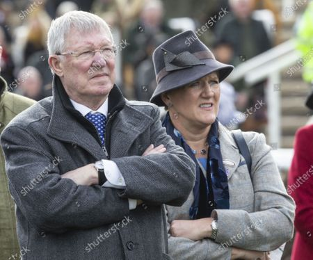 Sir Alex Ferguson and Clare Balding