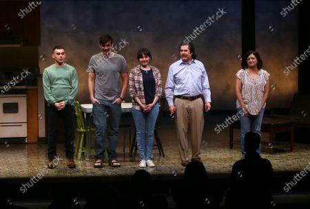 Tyler Alvarez, Bobby Moreno, Jacqueline Guillen, Triney Sandoval, and Maria Elena Ramirez