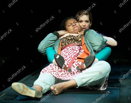 Kayka Meikle as Elaine,  Katherine Parkinson as Viv