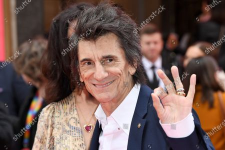 Stock Image of Ronnie Wood