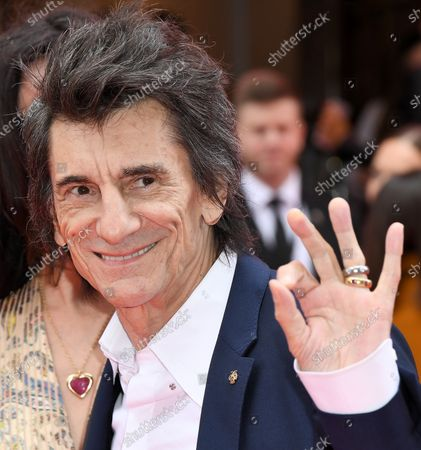 Stock Picture of Ronnie Wood