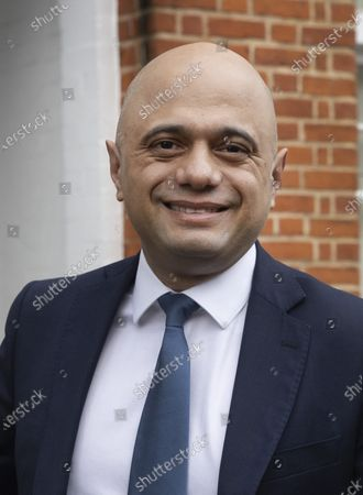 Former chancellor Sajid Javid leaves home for Parliament on Budget day