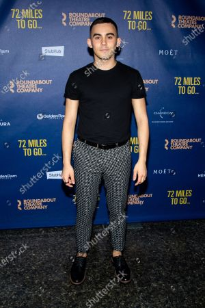 Editorial picture of '72 Miles To Go' play opening night, New York, USA - 10 Mar 2020