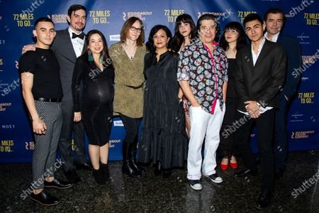 Editorial image of '72 Miles To Go' play opening night, New York, USA - 10 Mar 2020