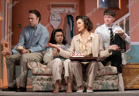 Nicholas Burns as Kenneth, Isabella Laughland as Rose, Rachael Stirling as Sandra, Mike Noble as Jamie
