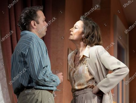 Nicholas Burns as Kenneth,  Rachael Stirling as Sandra,