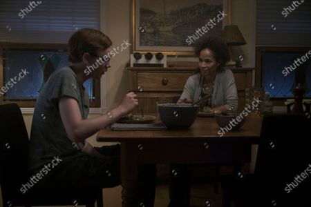 Coby Bird as Rufus Whedon and Sherri Saum as Ellie Whedon