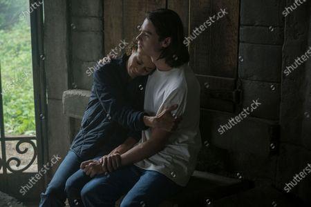 Sherri Saum as Ellie Whedon and Felix Mallard as Lucas Caravaggio