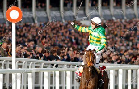 EASYSLAND (Jonathan Plouganou) wins The Glenfarclas Cross Country Chase Cheltenham Steven Cargill / Racingfotos.com