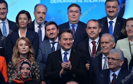 Editorial picture of Former Turkish Minister Ali Babacan launches new political party in Ankara, Turkey - 11 Mar 2020