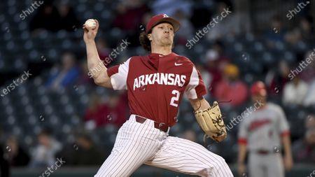 Editorial photo of Illinois ST Arkansas Baseball, Fayetteville, United States - 03 Mar 2020